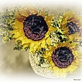 Sunflower Decor 9 by Sarah Loft