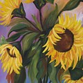 Sunflower Fantasy. Sold by Susan Dehlinger