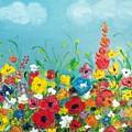 Sunflower Field by Denisa Olbojan