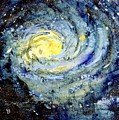Sunflower Galaxy by Michelle De Villiers