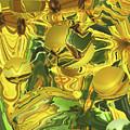 Sunflower Orb Glow by Brooks Garten Hauschild