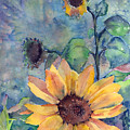 Sunflower In Bloom by Arline Wagner