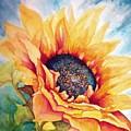 Sunflower Joy by Janine Riley
