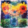 Sunflower Mosaic by Mo Barton