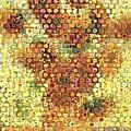 Sunflower Mosaic by Paul Van Scott