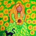Sunflower Princess by Nick Gustafson