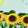 Sunflower by Rabia Shabbir