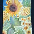 Sunflower Sea by Margaret G Calenda