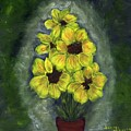 Sunflower Season - Www.jennifer-d-art.com by Jennifer Skalecke