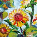 Sunflowers 6 by Gina De Gorna