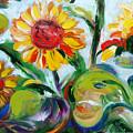 Sunflowers 9 by Gina De Gorna