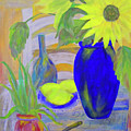 Sunflowers And Lemons by Linda Watson