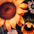 Sunflowers And More Sunflowers by Jordana Sands
