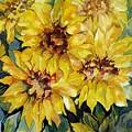Sunflowers by Carolyn LeGrand