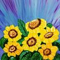 Sunflowers  by Elizabeth Goodermote