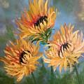 Sunflowers by Filomena Irving