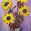 Sunflowers For My Daughter by Pilar  Martinez-Byrne