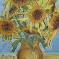 Sunflowers II. by Agnes V