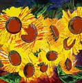 Sunflowers II by Valerie Wolf