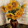Sunflowers by Ishenko  V'yacheslav