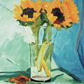 Sunflowers by Kathryn Donatelli