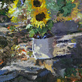 Sunflowers by Kenneth Young