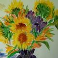 Sunflowers by Liliana Andrei