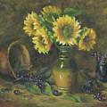 Sunflowers by Katalin Luczay