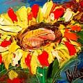 Sunflowers by Mark Kazav
