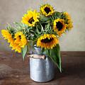 Sunflowers by Nailia Schwarz