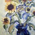 Sunflowes by Geraldine Liquidano