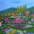 Sunken Garden by Amelie Simmons