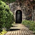 Sunken Garden Doorway by Chris Fleming