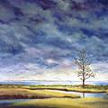 Sunlight On The Marshes 18x24 by Tony Scarmato