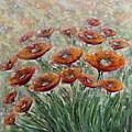 Sunlight Poppies by Elena Nesterenko