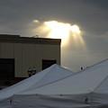 Sunlight Shooting Through Clouds by Kent Lorentzen