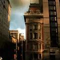 Sunlight Slant On Midtown by RC DeWinter