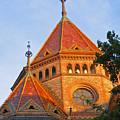 Sunlit Church Aglow by Ann Horn