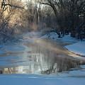 Sunlit Creek  by Kathy Carlson