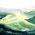 Sunlit Mountain by Anil Nene