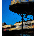 Sunlit Pier by Mal Bray