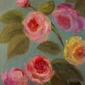 Sunlit Roses by Mary Wolf