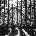Sunlit Stained Glass At Czestochowa Shrine, Pa by Christopher Lotito