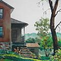 Sunlit Steps by Faye Ziegler