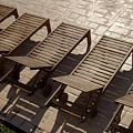 Sunning Chairs by Deborah  Crew-Johnson