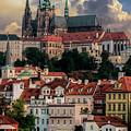 Sunny Afternoon In Prague by Jaroslaw Blaminsky