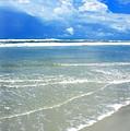 Sunny Beach by Thomas R Fletcher