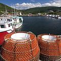 Sunny Cape Breton Harbor by Sven Brogren