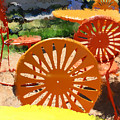 Sunny Chairs 5 by Geoff Strehlow