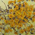 Sunny Dandelions by Vitali Komarov